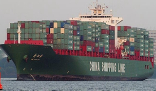 shipping from China to Africa by sea