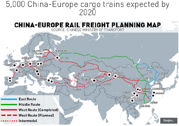 CHINA-EUROPE RAILWAY EXPRESS(1/2)